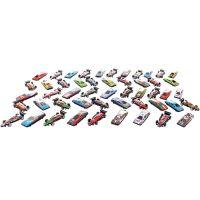 Súprava plastových áut 50 ks