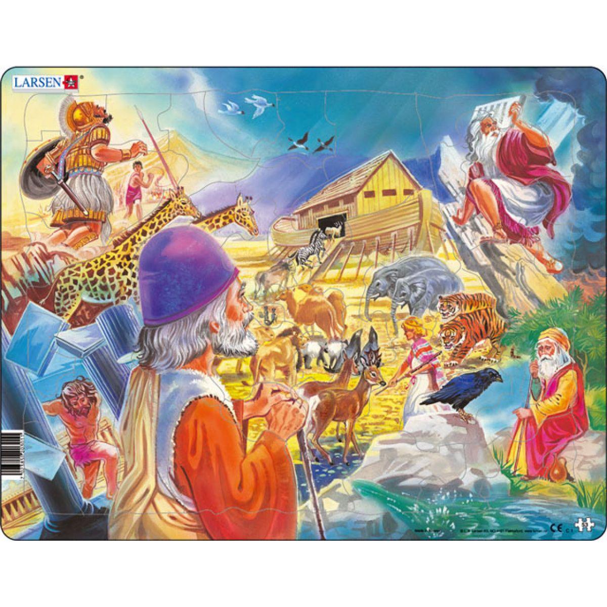 Larsen puzzle Bible I. Noemova Archa
