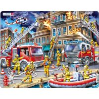 Larsen Puzzle Hasiči - požár domu