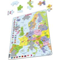Larsen Puzzle Mapa Európy Maxi