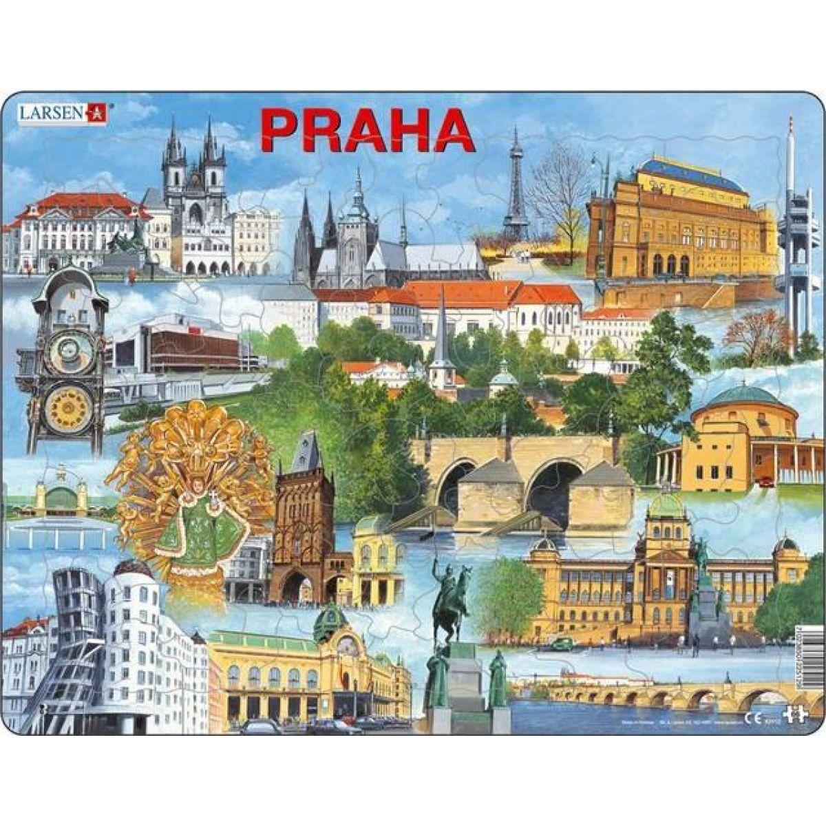 Larsen puzzle Praha