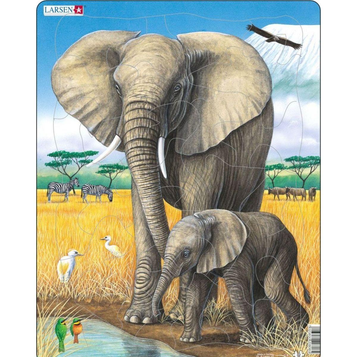 Larsen Puzzle Slon sa slun