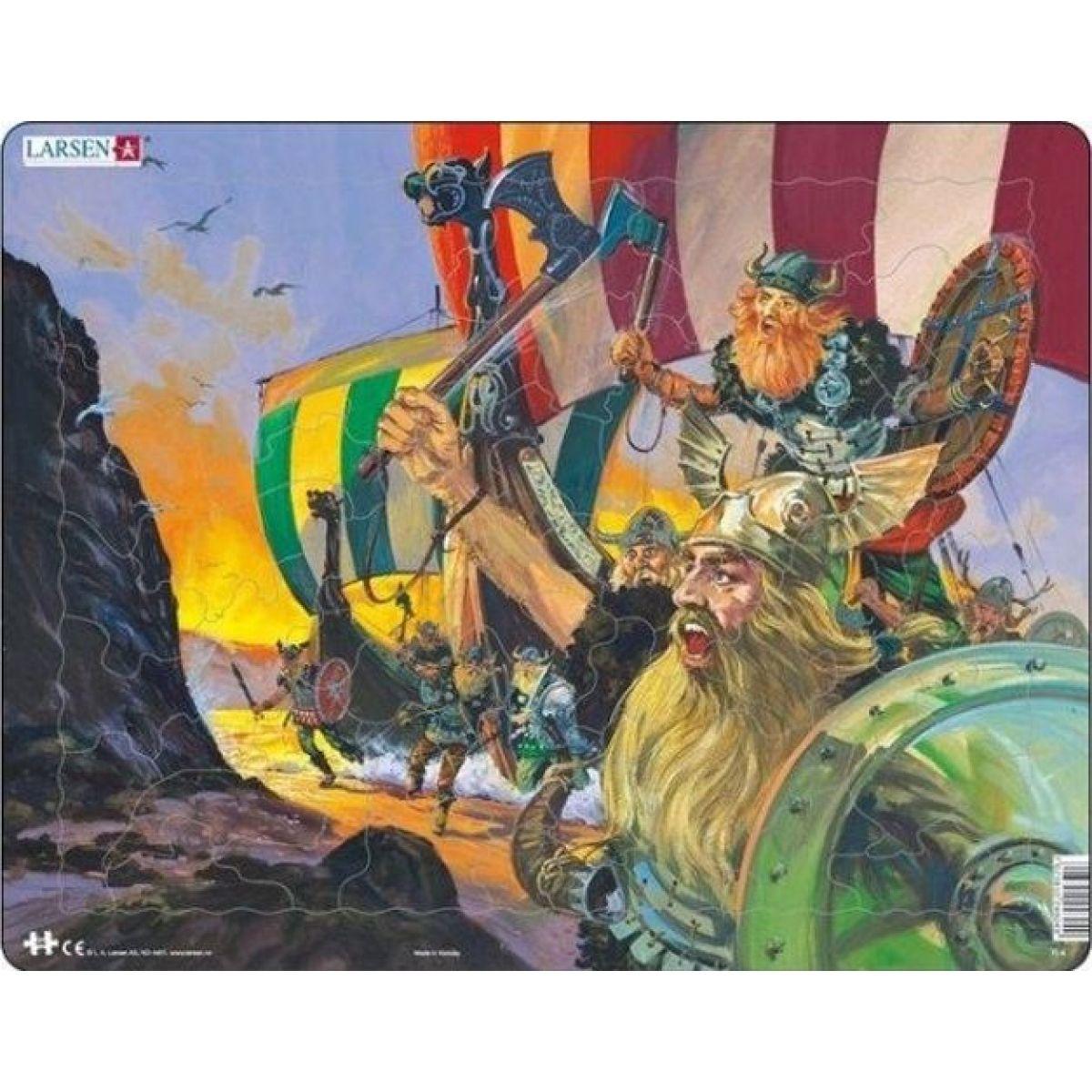 Larsen Puzzle Vylodenie Vikingov