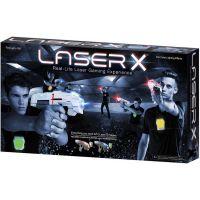 Laser-X pištoľ na infračervené lúče dvojitá sada 6