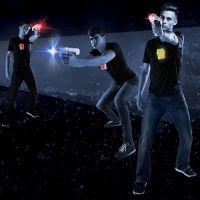 Laser-X pištoľ na infračervené lúče dvojitá sada 2