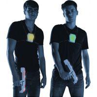 Laser-X pištoľ na infračervené lúče dvojitá sada 4