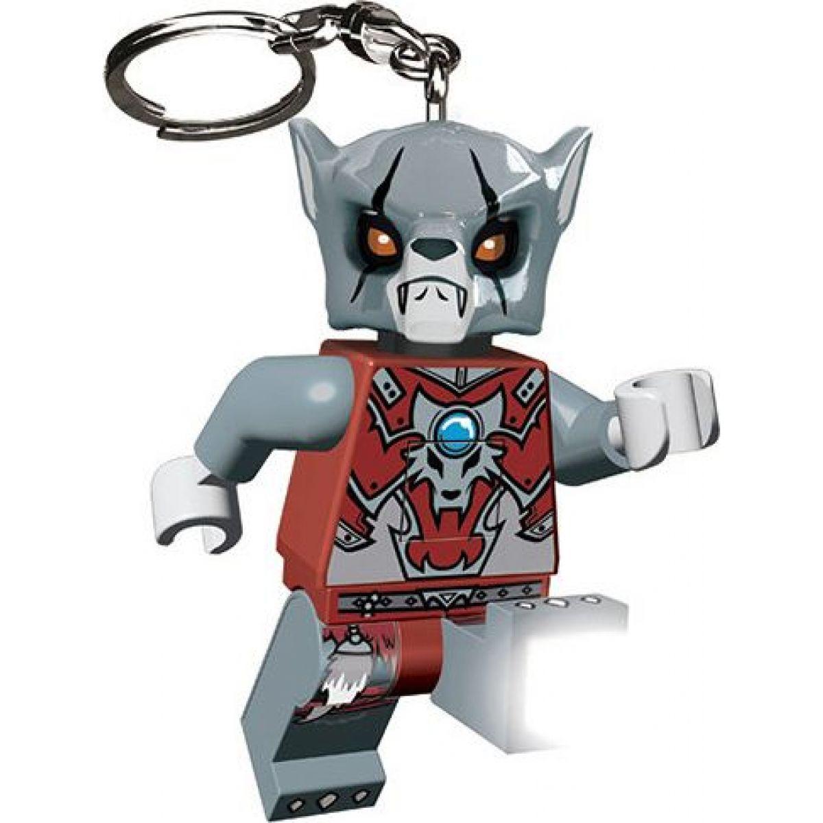 Prívesok na kľúče LEDLite LEGO Chima Worriz Svítící