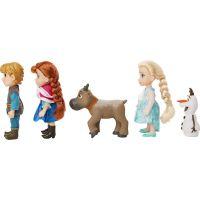 Ľadové kráľovstvo II Veľký set s figúrkami Anna, Elsa, Olaf, Kristof 15 cm 5