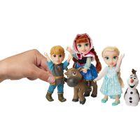 Ľadové kráľovstvo II Veľký set s figúrkami Anna, Elsa, Olaf, Kristof 15 cm 3