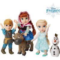 Ľadové kráľovstvo II Veľký set s figúrkami Anna, Elsa, Olaf, Kristof 15 cm 2