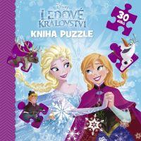 Ledové království Kniha puzzle 30 dílků