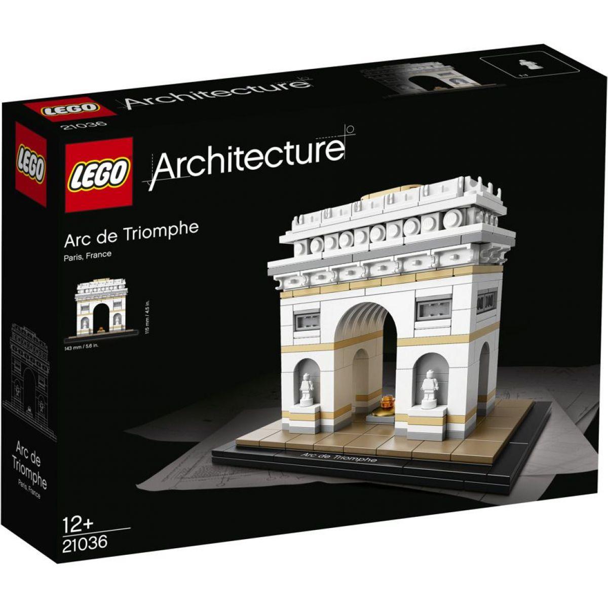 LEGO Architecture 21036 Víťazný oblúk