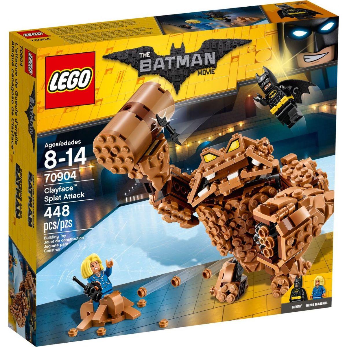 LEGO Batman Movie 70904 Clayfaceov bahnitý útok