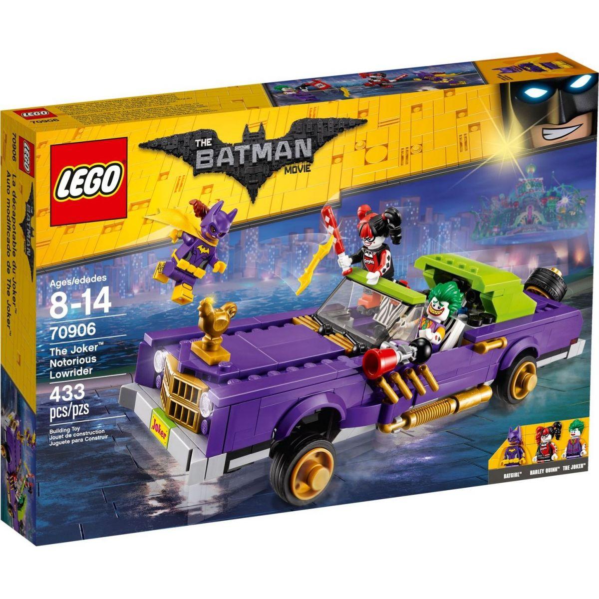 LEGO Batman Movie 70906 Joker a jeho vozidlo Notorious Lowrider