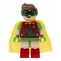LEGO Batman Movie Robin hodiny s budíkom