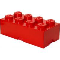 LEGO Box na desiatu 10 x 20 x 7,5 cm červená