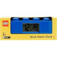 LEGO Brick Hodiny s budíkom modrá 5