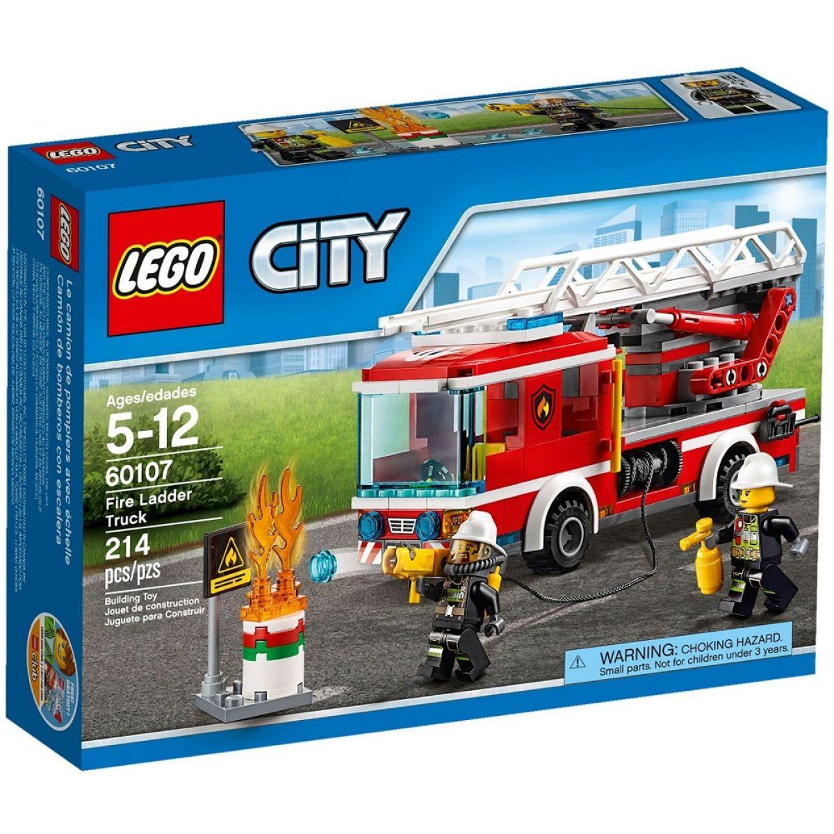 LEGO City 60107 Hasičské auto s rebríkom