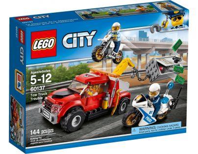 LEGO City 60137 Ťažkosti odťahového vozidla