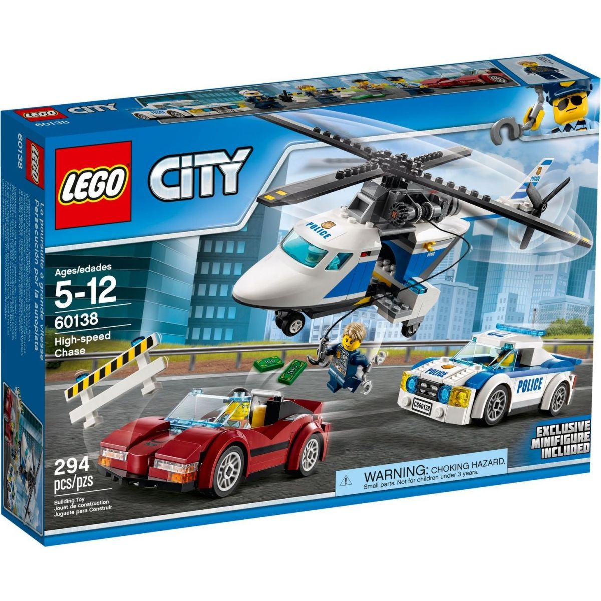 LEGO City 60138 Naháňačka vo vysokej rýchlosti