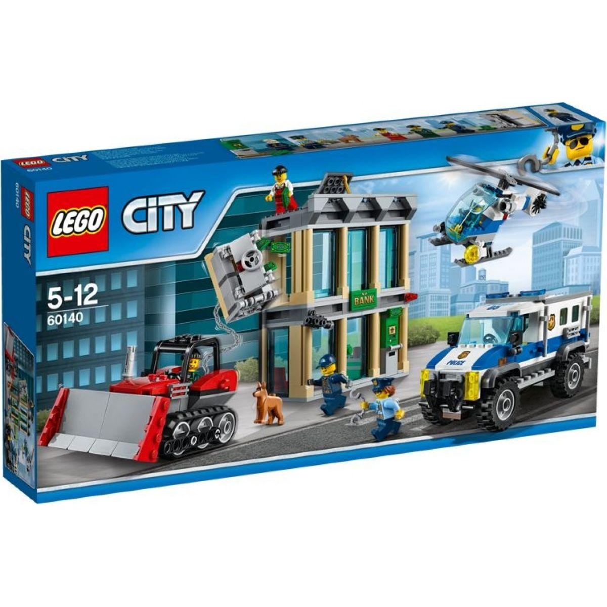 LEGO City 60140 Vlámanie buldozérom