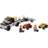 LEGO City 60148 Pretekársky tím štvorkoliek 2