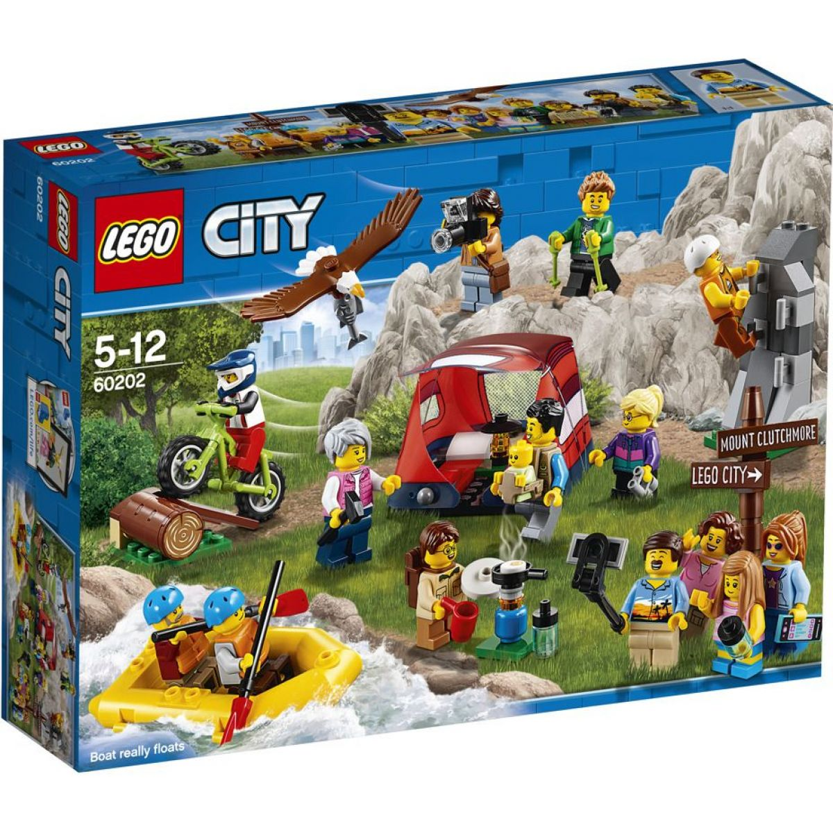 LEGO City 60202 Sada postavičiek – dobrodružstvo v prírode