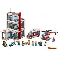 LEGO City 60204 Nemocnica - Poškodený obal  2