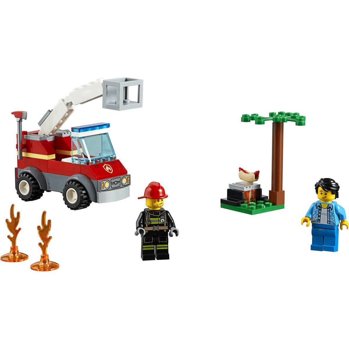 LEGO City 60212 Grilovanie a požiar