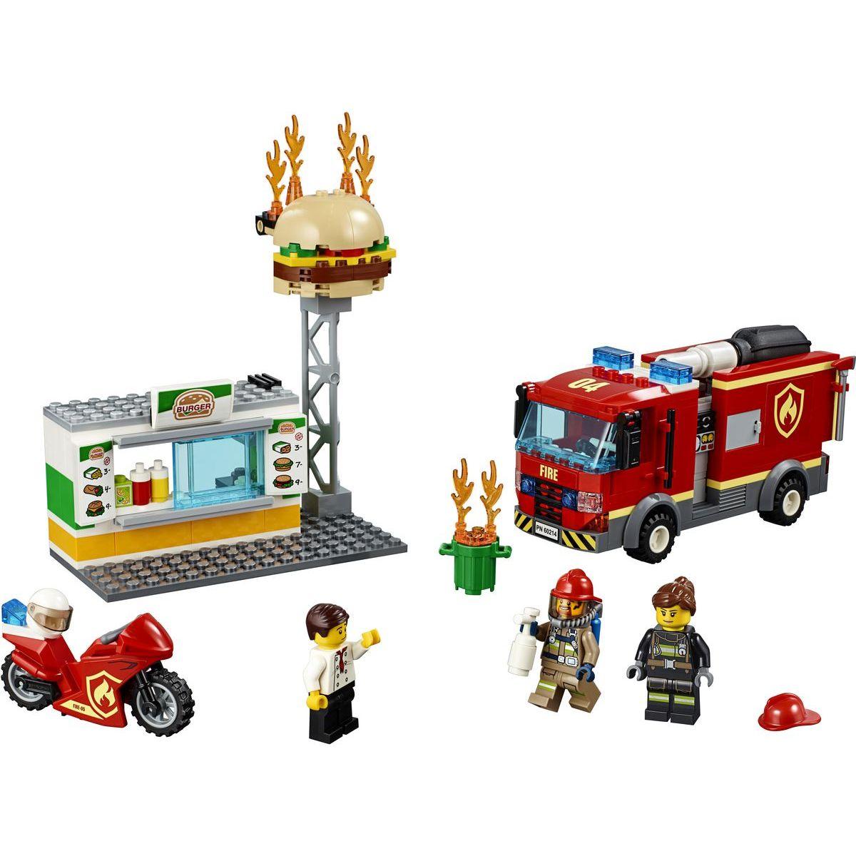 LEGO City 60214 Záchrana burgrárne - Poškodený obal