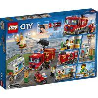 LEGO City 60214 Záchrana burgrárne - Poškodený obal 2