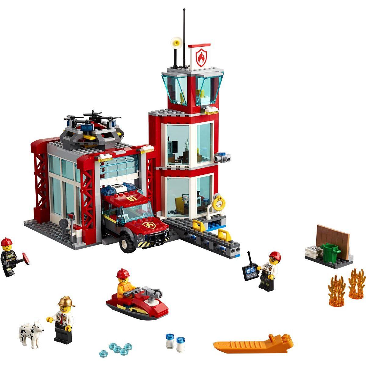 LEGO City 60215 Hasičská stanica