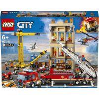 LEGO City 60216 Hasiči v centre mesta - Poškodený obal
