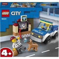 LEGO City 60241 Jednotka s policajným psom