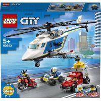LEGO City 60243 Prenasledovanie policajnou helikoptérou