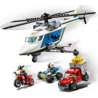 LEGO® City 60243 Prenasledovanie policajnou helikoptérou 4