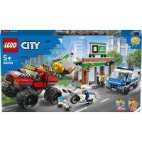 LEGO City 60245 Lúpež s monster truckom
