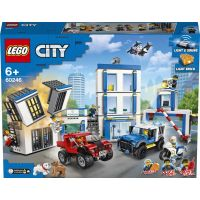 LEGO City 60246 Policajná stanica