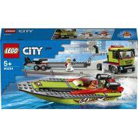 LEGO City 60254 Preprava pretekárskeho člnu