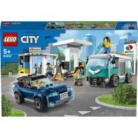LEGO City 60257 Benzínová stanica
