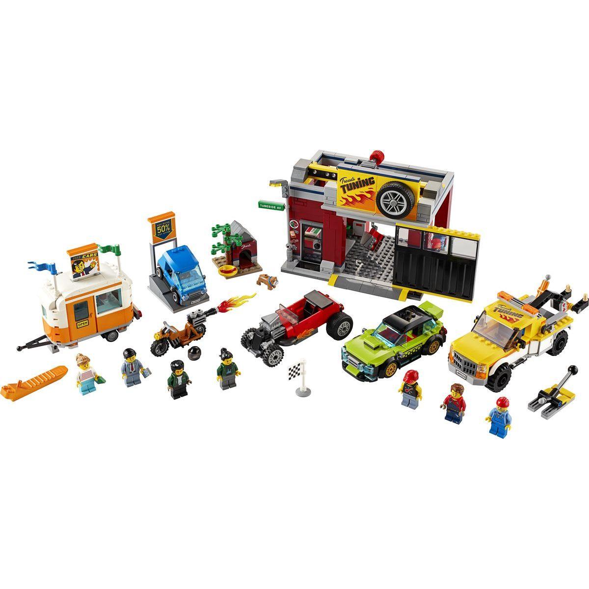 LEGO City 60258 Tuningová dielňa