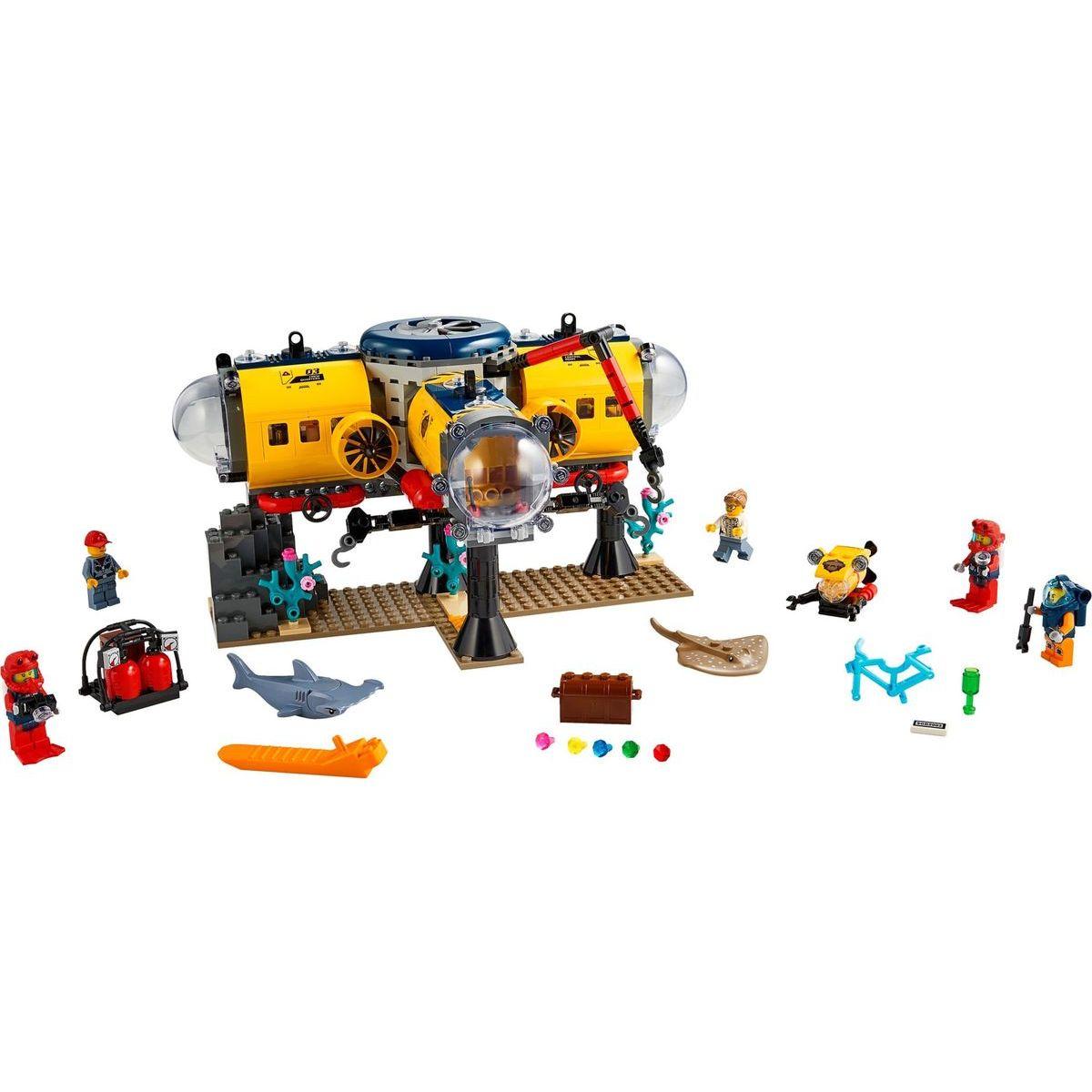 LEGO City 60265 Oceánska prieskumná základňa