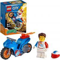 LEGO® City 60298 Kaskadérská motorka s raketovým pohonom