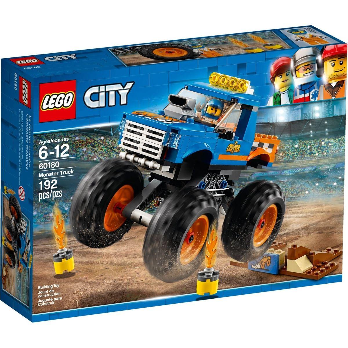 LEGO City 60180 Monster truck - Poškodený obal