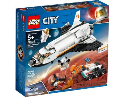 LEGO City Space Port 60226 Raketoplán skúmajúci Mars