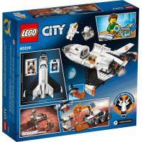 LEGO City Space Port 60226 Raketoplán skúmajúci Mars 4