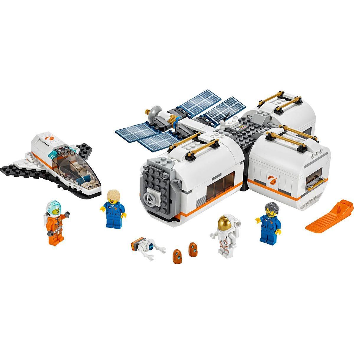 LEGO City Space Port 60227 Lunárna vesmírna stanica