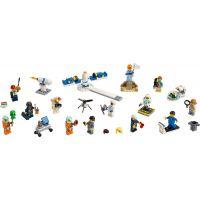 LEGO City Space Port 60230 Súprava postáv – Vesmírny výskum a vývoj