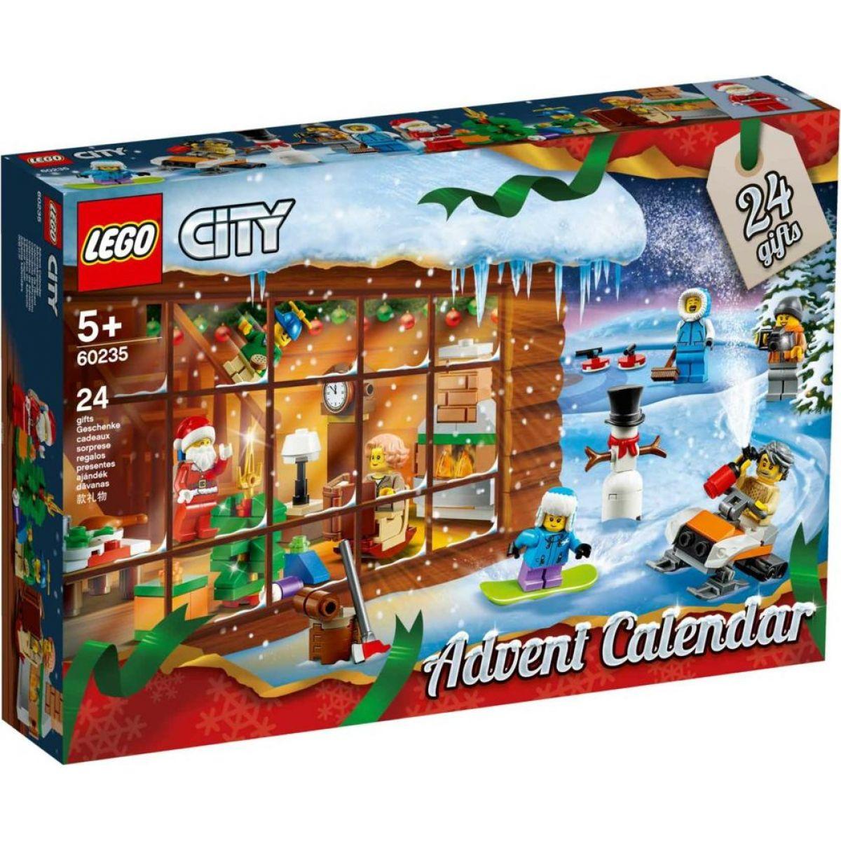 LEGO City Town 60235 Adventný kalendár LEGO® City - Poškodený obal