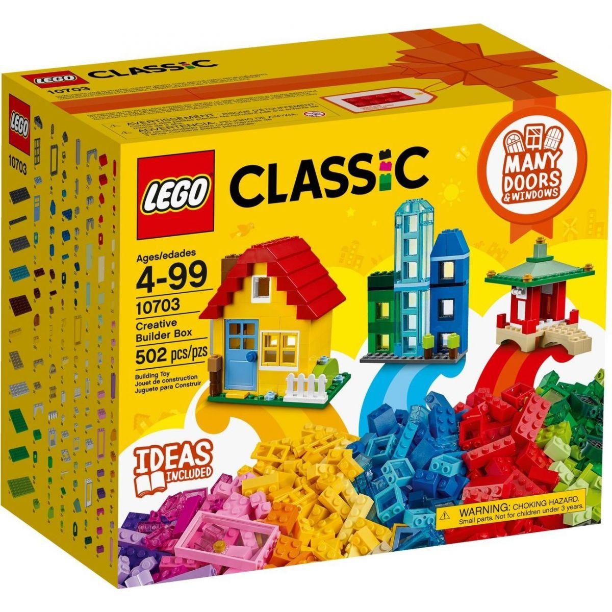 LEGO Classic 10703 Kreatívny box pre staviteľov